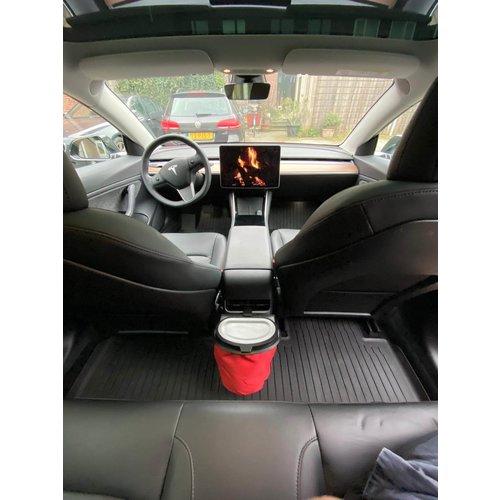 Flextrash Table & Tesla clip