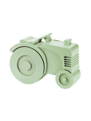 Blafre Lunchbox Tractor Mint Groen