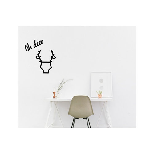 Dutch-lifestyle Muurstickers Oh Deer