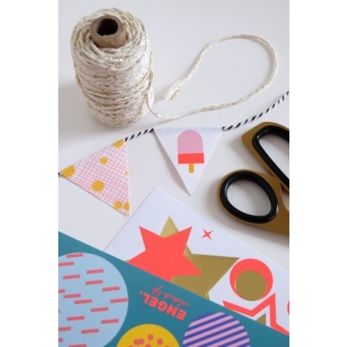Engelpunt DIY sticky garland boekje