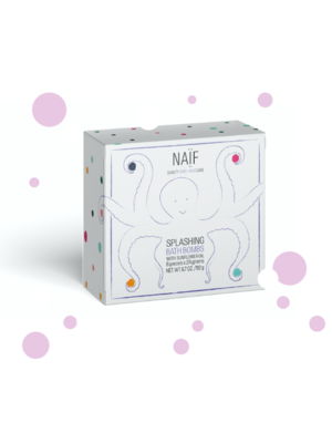 Naïf  Splashing Bath bombs