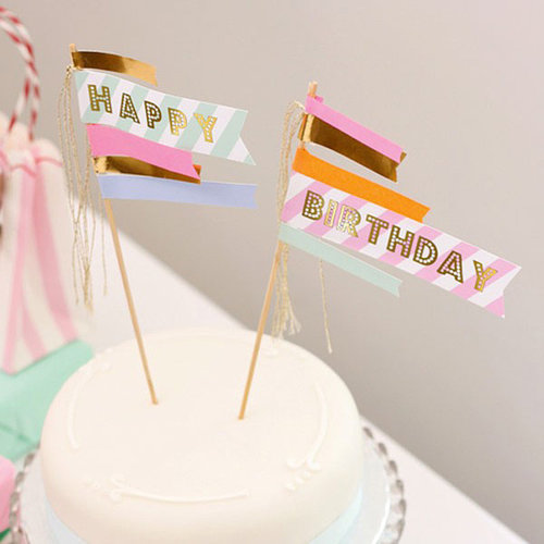 Meri Meri  Toot sweet cake topper
