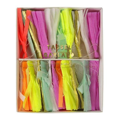 Meri Meri  Neon mini tassel