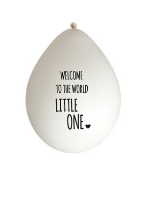 Huusje.nl Ballon Welcome to the world little one