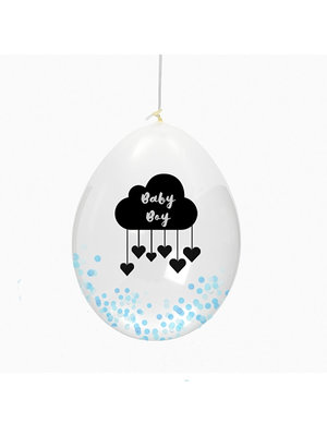 Huusje.nl Ballon Baby Boy