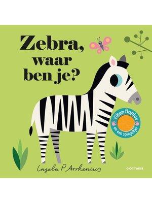 Uitgeverij Gottmer Zebra, waar ben je?