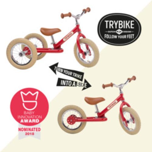 Trybike Vintage Steel  | Rood