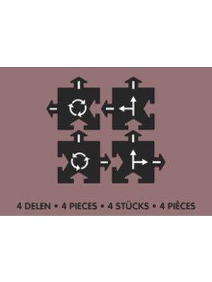 Way to Play Uitbreidingsset kruispunt 2-delig