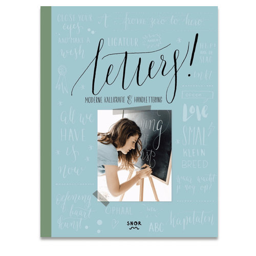Uitgeverij Snor Letters! Handboek voor kalligrafie en handlettering