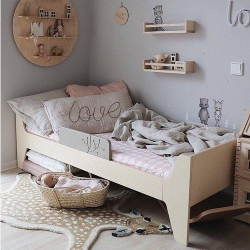 Swedish Linens Junior hoeslaken | Nudy Pink