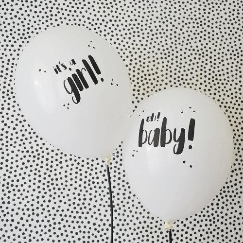 Sparkle Ballonnen It's a Girl