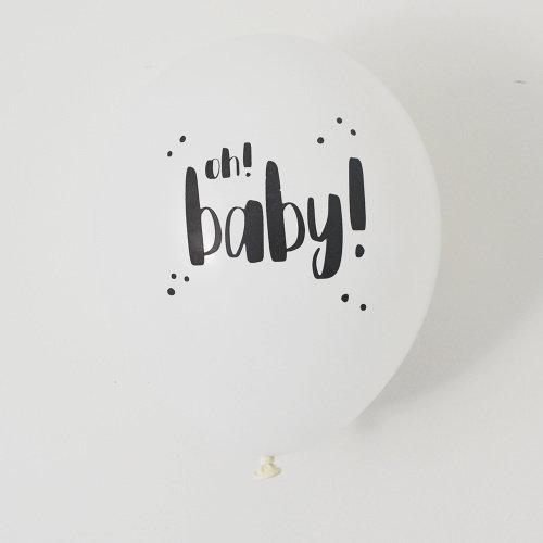Sparkle Ballonnen Oh Baby!