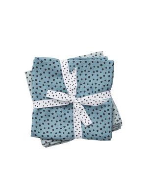 Done by deer Hydrofiele doeken Happy Dots | Blauw
