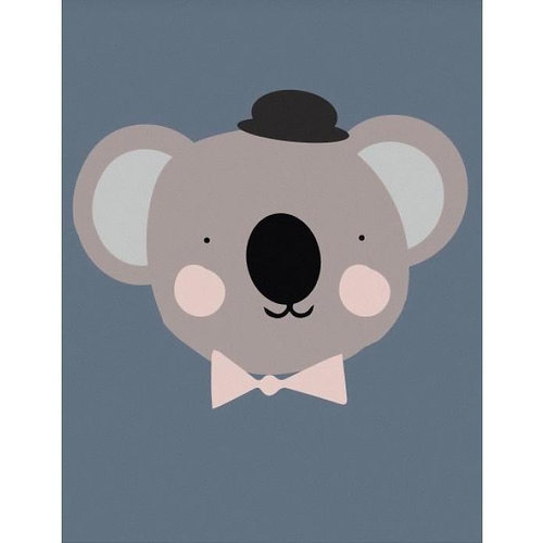 Eef Lillemor Poster Sir Koala