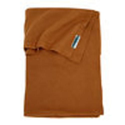 Meyco Wiegdeken knit basic camel 75 x 100