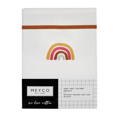 Meyco Wieglaken rainbow camel