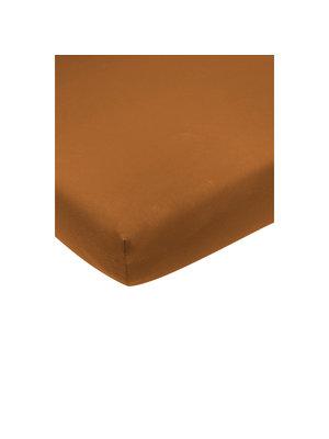 Meyco Jersey hoeslaken camel 40x80/90