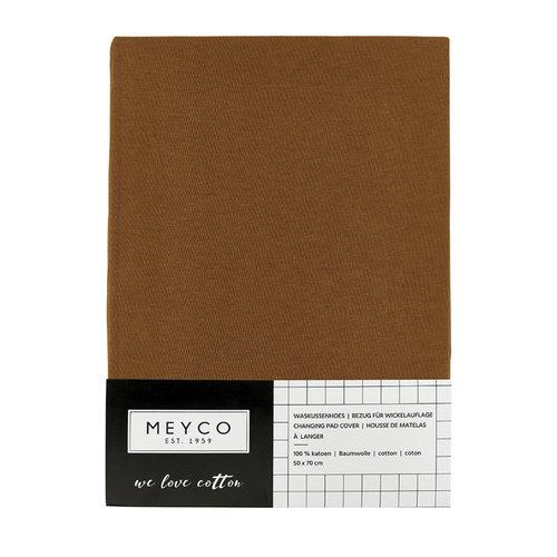 Meyco Aankleedkussenhoes jersey camel