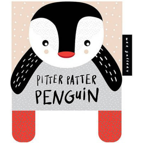 Wee Gallery Soft book pinguin 0+