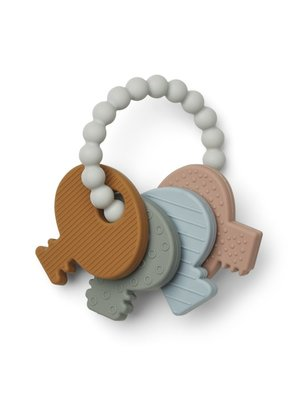 Liewood Kay Key Teether Siliconen Bijtring - Multi Mix