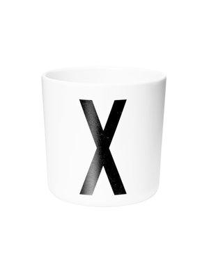 Melamine drinkbeker |  letter X