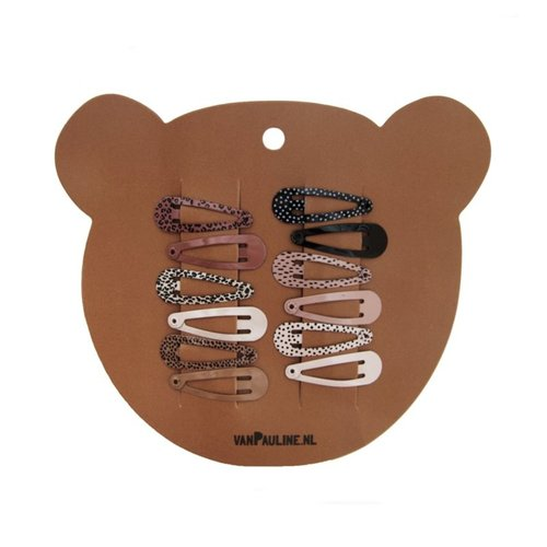 vanPauline Hairclips Bear