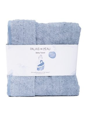 Palais de l'eau Baby Towel | Recycled Denim