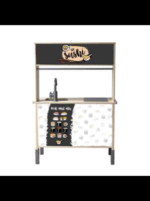 Stckrs online Stickerset Ikea Duktig | Sushi Pick & Mix