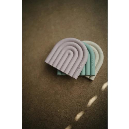 Mushie Siliconen bijtspeeltje Rainbow | Shifting Sand