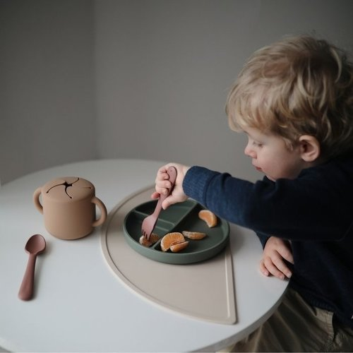 Mushie Snack Cup | Natural