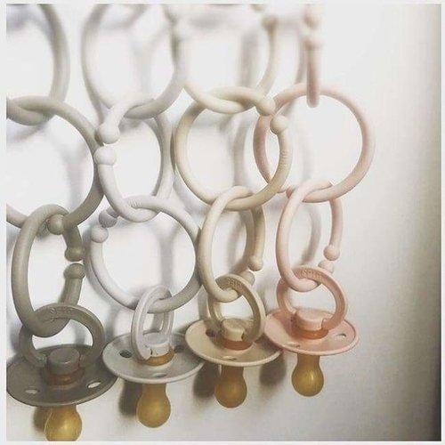 BIBS speen Ring | Baby Pink