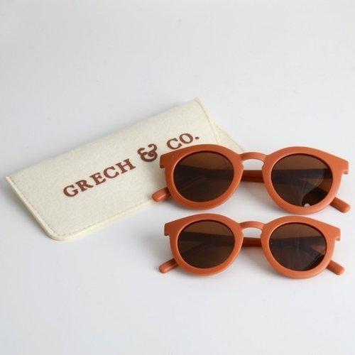 Grech & Co  Kinderzonnebril | Rust