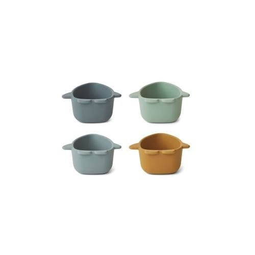 Liewood Malene silicone bowl space | blue multi mix