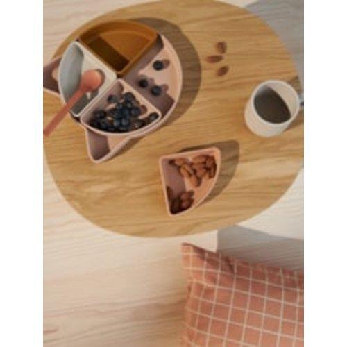 Liewood Arne serveerschaal siliconen cat   tuscany rose mix