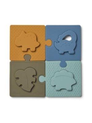 Liewood Bodil puzzel   dino blue multi mix
