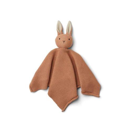Liewood Milo cuddle cloth knuffeldoek | rabbit tuscany rose
