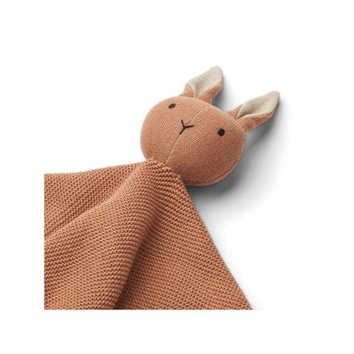 Liewood Milo cuddle cloth knuffeldoek   rabbit tuscany rose