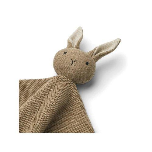 Liewood Milo cuddle cloth knuffeldoek | Rabbit oak