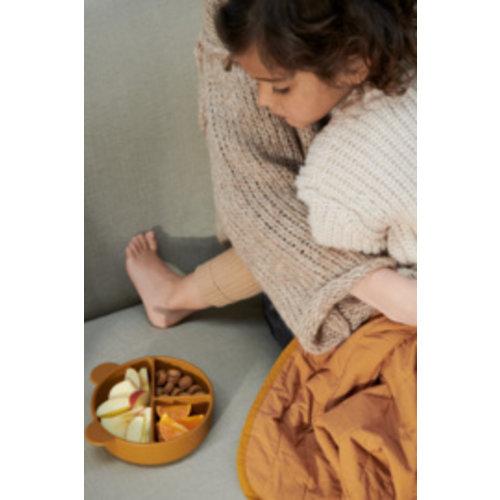 Liewood Connie divider bowl siliconen kommetjes | sandy oat mix (set van 2)