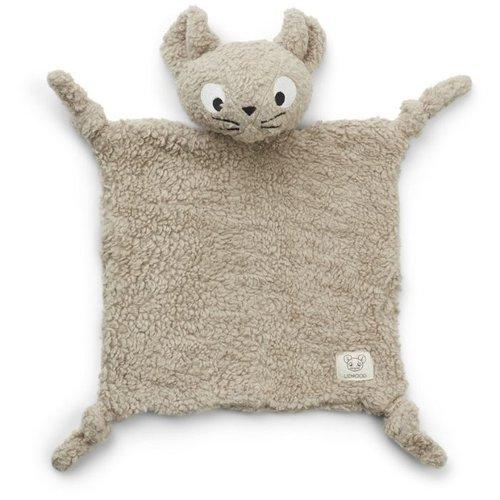 Liewood Lotte knuffeldoek   Mr Mouse pale grey