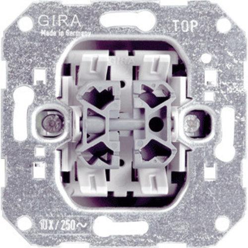 Gira GIRA Basiselement - Wissel/wissel schakelaar | 010800