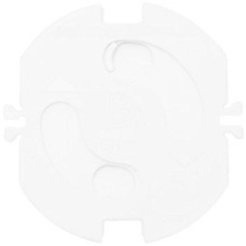 Kinderbeveiliging wandcontactdoos inzetplaatjes wit