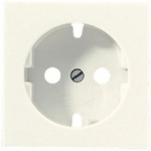 Jung JUNG losse centraalplaat wandcontactdoos wit (creme) A520PL