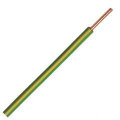 Donne Donne VD draad 2.5mm groen/geel 100 meter