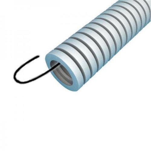 Preflex flexibele buis 16mm met trekdraad 100 meter grijs