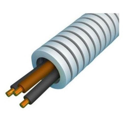 Preflex flexibele buis 16 mm met VD draad 1x2,5 + 2x1,5 mm - rol 100 meter