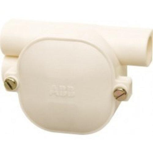 ABB ABB lasdoos topdoos dubbel links 3 x 16mm met blinddeksel