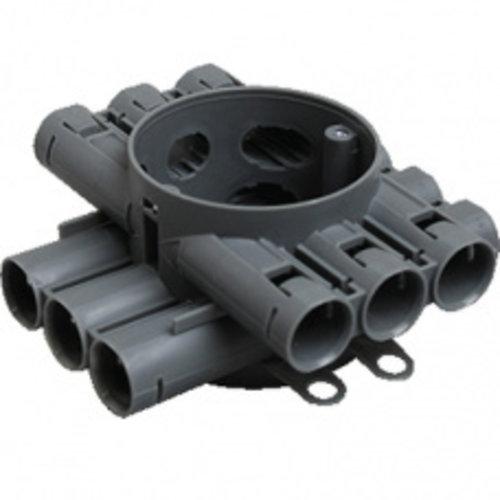 Attema Attema centraaldoos 12 invoerstukken 16/19mm buis CH60R