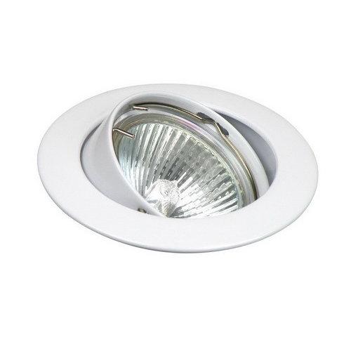 Inbouwspot kantelbaar Ø50mm lamp Wit