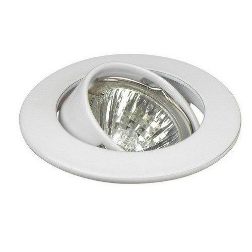 Inbouwspot kantelbaar Ø35mm lamp Wit